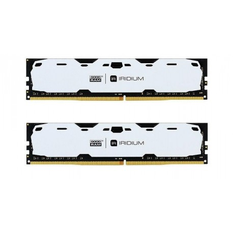 Pamięć DDR4 GOODRAM IRIDIUM 8GB (2x4GB) 2400MHz CL15-15-15 IRDM 512x8 White