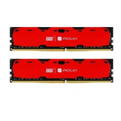 Pamięć DDR4 GOODRAM IRIDIUM 16GB (2x8GB) 2400MHz CL15-15-15 IRDM 1024x8 Red