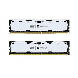 Pamięć DDR4 GOODRAM IRIDIUM 16GB (2x8GB) 2400MHz CL15-15-15 IRDM 1024x8 White