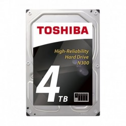 Dysk Toshiba N300 HDWQ140UZSVA 3,5' 4TB SATA - NAS BULK