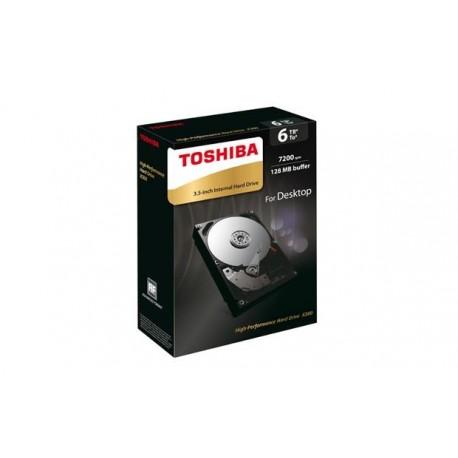 """Dysk Toshiba X300 HDWE160EZSTA 3,5"""" 6TB SATA 7200 128MB"""