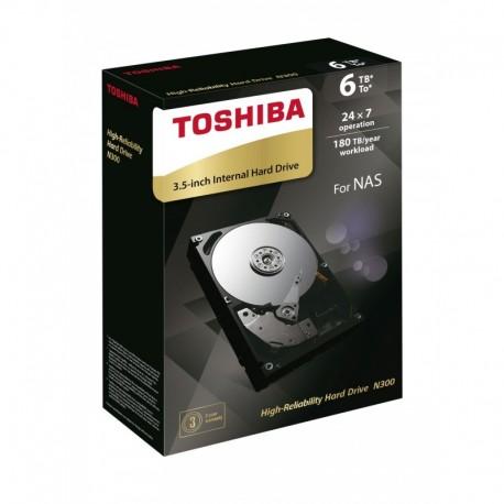 Dysk Toshiba N300 HDWN160EZSTA 3,5' 6TB SATA - NAS