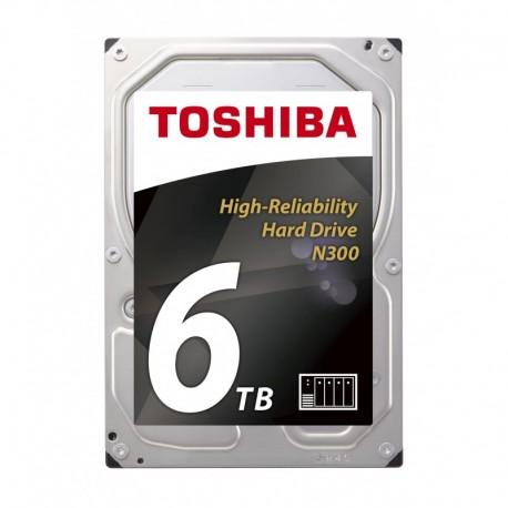 Dysk Toshiba N300 HDWN160UZSVA 3,5' 6TB SATA - NAS BULK