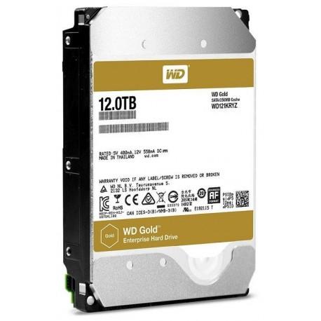"Dysk WD WD121KRYZ WD Gold 3.5"" 12TB 7200 256MB SATA 6Gb/s"