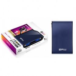 """Dysk zewnętrzny Silicon Power ARMOR A80 1TB 2.5"""" USB3.0 PANCERNY Blue"""