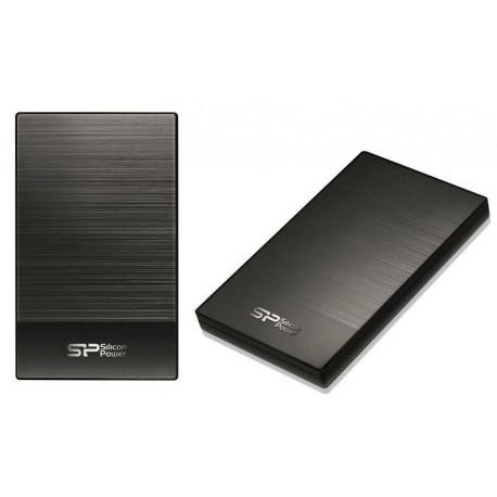 """Dysk zewnętrzny Silicon Power Diamond D05 1TB 2.5"""" USB3.0 Metallic Gray"""