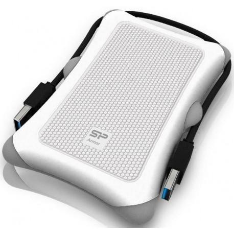 Dysk zewnętrzny Silicon Power ARMOR A30 2TB USB 3.0 WHITE / PANCERNY / wstrząsoodporny