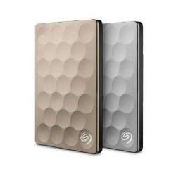 Dysk zewnętrzny SEAGATE BACKUP PLUS Ultra Slim STEH1000201 1TB USB3.0 Gold
