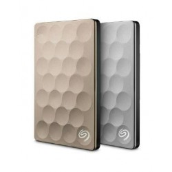 Dysk zewnętrzny SEAGATE BACKUP PLUS Ultra Slim STEH2000201 2TB USB3.0 Gold