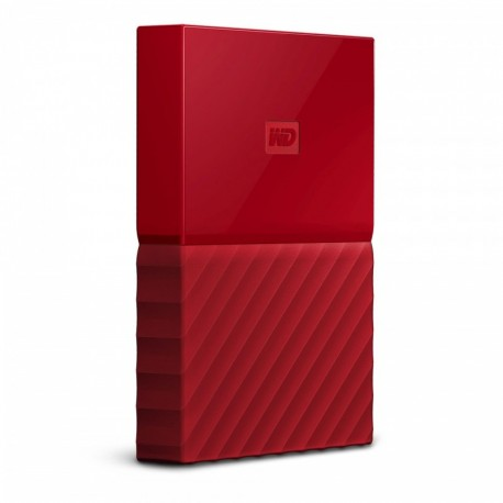 Dysk WD My Passport 1TB USB 3.0 red