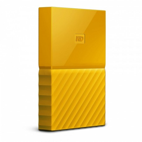 Dysk WD My Passport 2TB USB 3.0 yellow