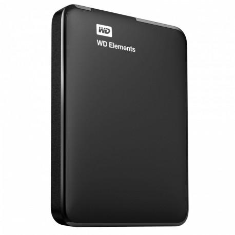 Dysk WD Elements Portable 2TB USB3.0/USB2.0 Black