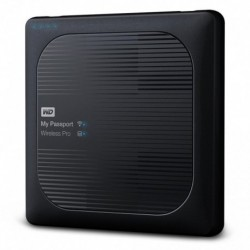 Dysk WD My Passport Wireless Pro 2TB WiFi AC, SD, USB 3.0, Black