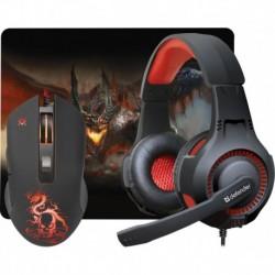 Zestaw dla graczy Defender DEVOURER MHP-006 (mysz+słuchawki+podkładka)