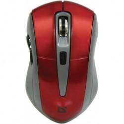 Mysz bezprzewodowa Defender ACCURA MM-965 optyczna 1600dpi 6P czerwono-szara
