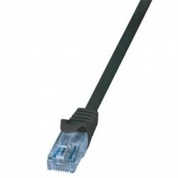 Patchcord LogiLink CP3033U Cat.6A U/UTP 1m czarny