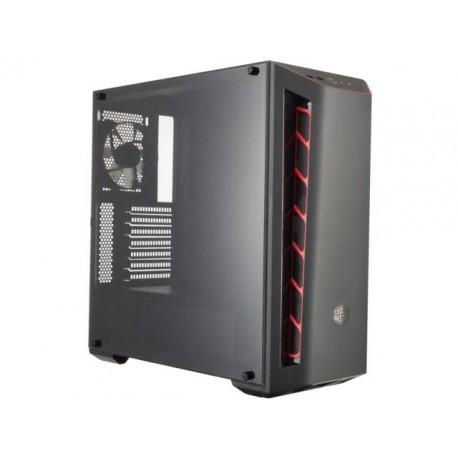 Obudowa Cooler Master MasterBox MB510L Midi Tower czarno-czerwona