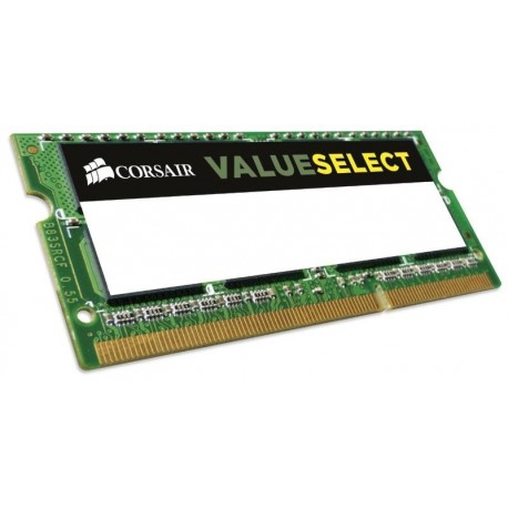 Pamięć DDR3 Corsair ValueSelect SODIMM 8GB 1600MHz DDR3L CL11 1.35V Low Voltage
