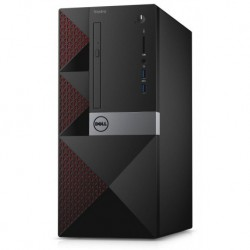 Komputer Dell Vostro 3668 MT i7-7700/8GB/1TB/AMD R9 360-2GB/DVD-RW/10PR 3YNBD