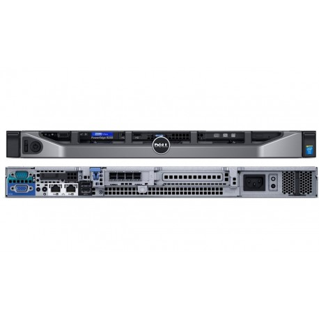 Serwer Dell PowerEdge R230 E3-1230v6/8GB/2x1TB/S130/ 3Y NBD