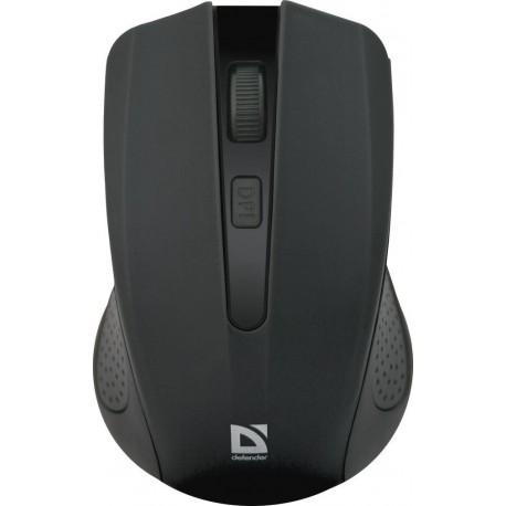 Mysz bezprzewodowa Defender ACCURA MM-935 optyczna 1600dpi 4P czarna