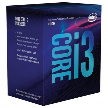 Procesor INTEL® Core™ i3-8100 Coffee Lake 3.60GHz 6MB LGA1151 BOX