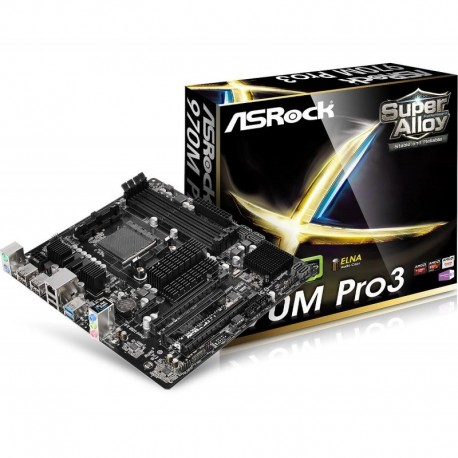 Płyta ASRock 970M Pro3 /AMD 970+SB950/DDR3/SATA3/USB3.0/AM3+/mATX