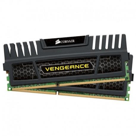 Pamięć DDR3 CORSAIR 16GB (2x8GB) 1600MHz 9-9-9-24 Vengeance Dual Black
