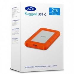 Dysk zewnętrzny LaCie Rugged 2TB USB 3.1 2,5'' STFR2000800