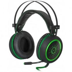Słuchawki z mikrofonem Defender DEADFIRE G-530D Gaming czarno-zielone + GRA