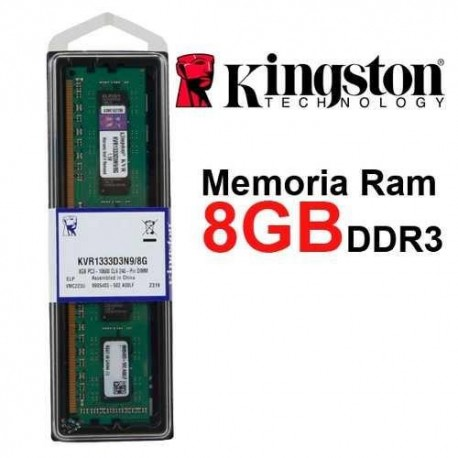 Pamięć DDR3 KINGSTON 8GB/1333MHz PC3-10600 CL.9