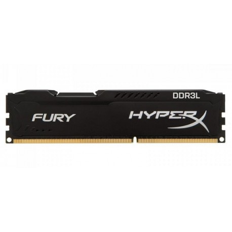 Pamięć DDR3 Kingston HyperX Fury 8GB 1600MHz CL10 Black DDR3L 1,35V Low Voltage