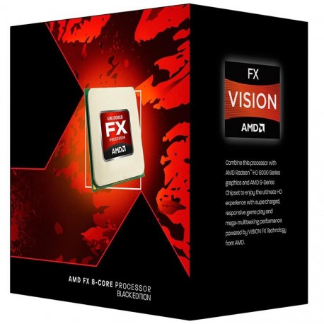 Procesor AMD FX-8300 BOX 32nm 4x2MB L2/8MB L3 3.3GHz S-AM3+