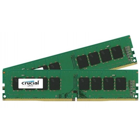 Pamięć DDR4 Crucial 16GB (2x8GB) 2133MHz CL15 Dual Ranked UDIMM 1.2V