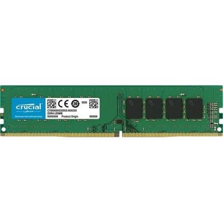 Pamięć DDR4 Crucial 4GB 2400MHz CL17 SRx8 1.2V
