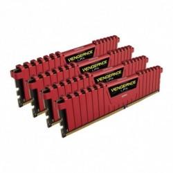 Pamięć DDR4 Corsair Vengeance LPX 32GB (4x8GB) 3400MHz CL16 1.35V czerwone