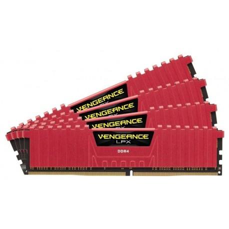 Pamięć DDR4 Corsair Vengeance LPX 32GB (4x8GB) 3866MHz CL18 1,35V czerwone