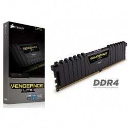 Pamięć DDR4 Corsair Vengeance LPX 8GB 2666MHz XMP 2.0 CL16 1.2V Black