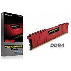 Pamięć DDR4 Corsair Vengeance LPX 8GB 2666MHz XMP 2.0 CL16 1.2V RED