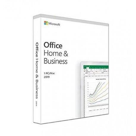 Oprogramowanie Office Home and Business 2019 PL EuroZone Medialess English. Produkt posiada możliwość zmiany wersji językowe