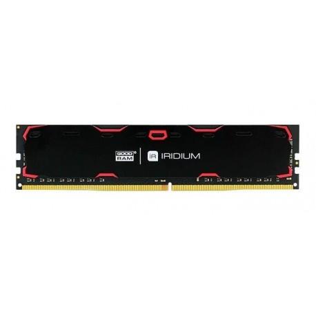 Pamięć DDR4 GOODRAM IRIDIUM 4GB 2400MHz CL15-15-15 IRDM 512x8 Black