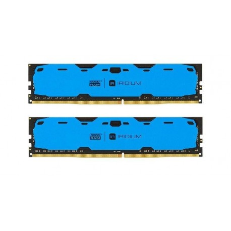 Pamięć DDR4 GOODRAM IRIDIUM 16GB (2x8GB) 2400MHz CL15-15-15 IRDM 1024x8 Blue