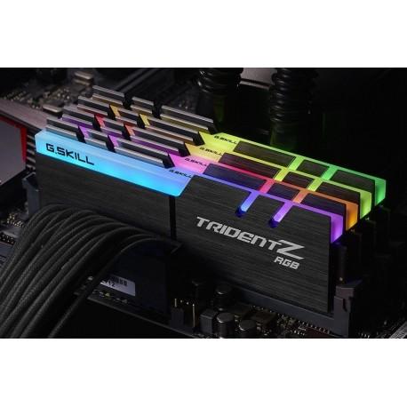 Pamięć DDR4 G.Skill Trident Z RGB 32GB (4x8GB) 2400MHz CL15 1,2V