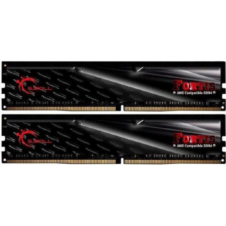 Pamięć DDR4 G.SKILL Fortis 32GB (2x16GB) 2400MHz CL15 1.2V Black for AMD Ryzen
