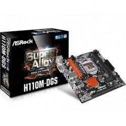 Płyta ASRock H110M-DGS /H110/DDR4/SATA3/USB3.0/PCIe3.0/s.1151/mATX