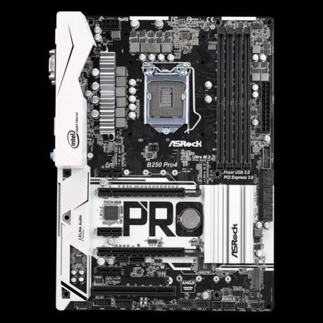 Płyta ASRock B250 Pro4 /B250/DDR4/SATA3/M.2/USB3.0/PCIe3.0/s.1151/ATX