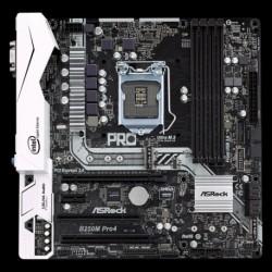 Płyta ASRock B250M Pro4 /B250/DDR4/SATA3/M.2/USB3.0/PCIe3.0/s.1151/mATX