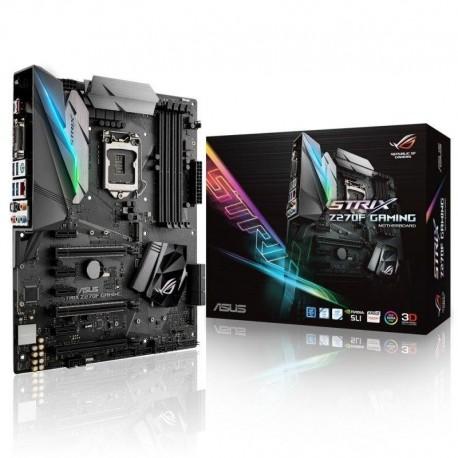 Płyta ASUS ROG STRIX Z270F GAMING /Z270/DDR4/SATA3/M.2/USB3.1/PCIe3.0/s.1151/ATX