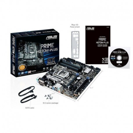 Płyta ASUS PRIME H270M-PLUS /H270/DDR4/SATA3/M2/USB3.0/PCIe3.0/s.1151/mATX