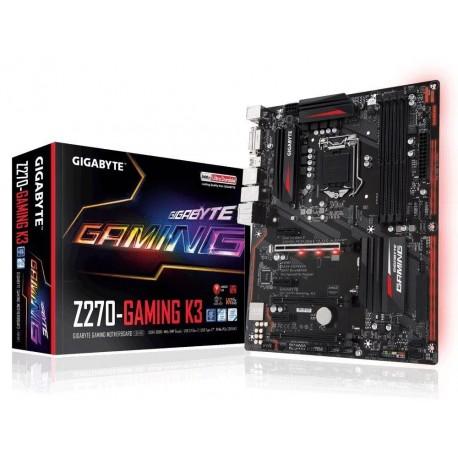 Płyta Gigabyte GA-Z270-Gaming K3 /Z270/DDR4/SATA3/SE/M.2/USB3.1/PCIe3.0/s.1151/ATX